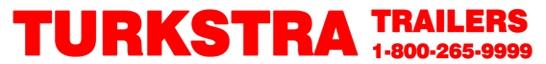 Turkstra Trailers