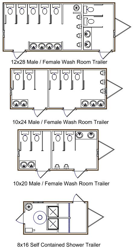 turkstra Site Washroom Trailers